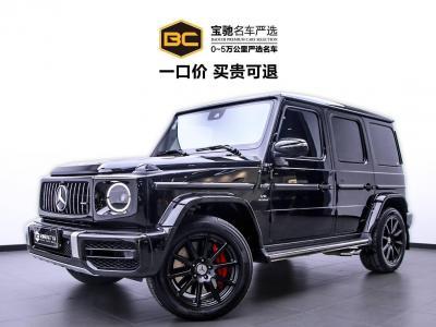 奔馳 奔馳G級AMG  2019款 AMG G 63