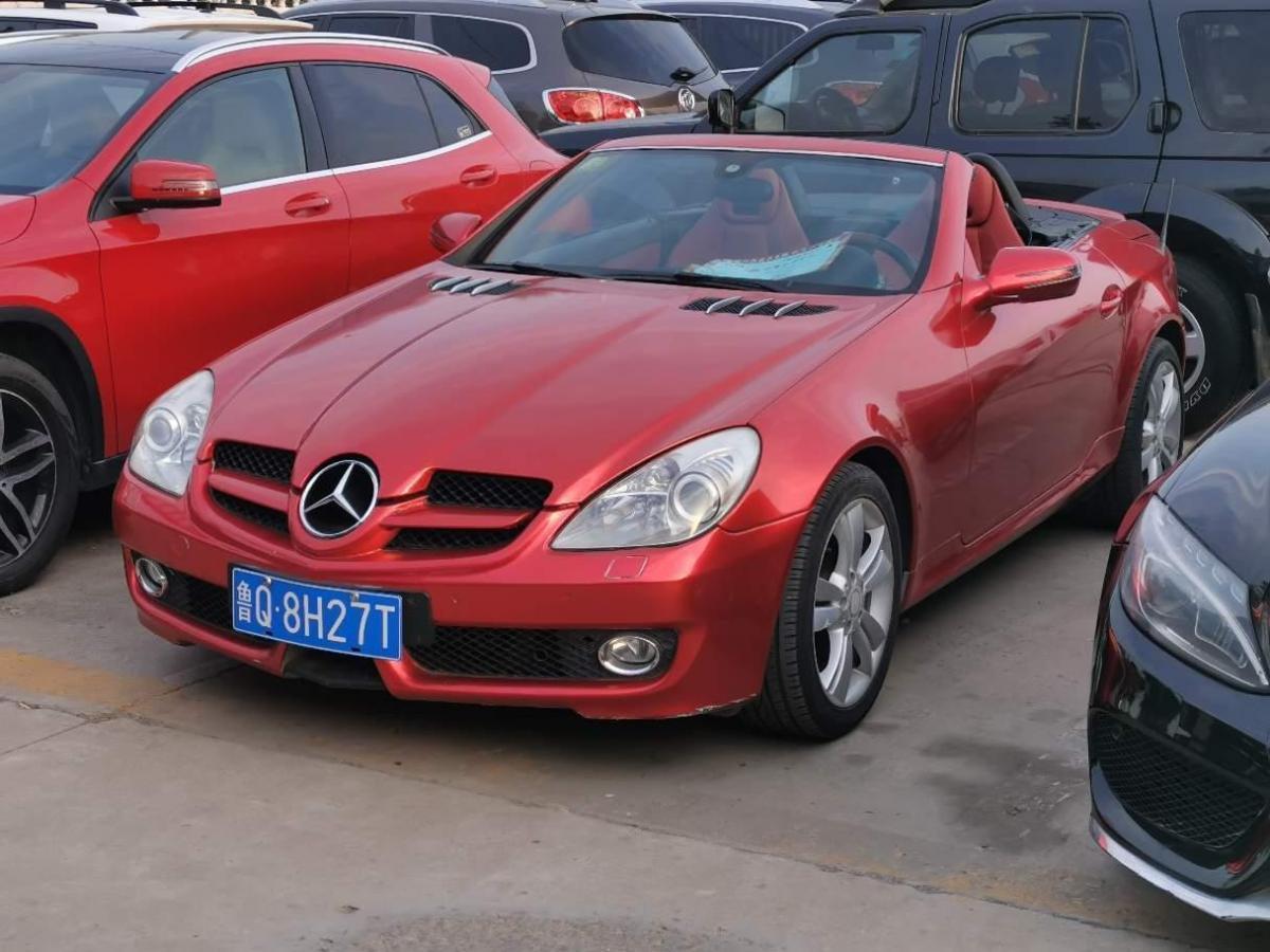 奔驰 奔驰SLK级  2010款 SLK 200K图片