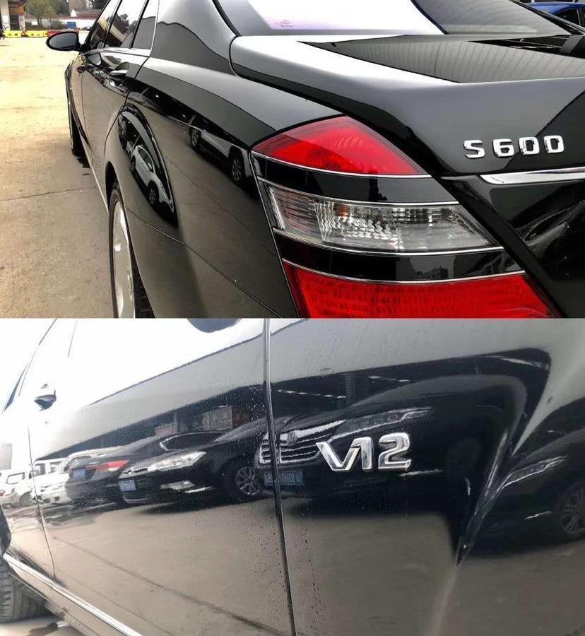 奔驰 奔驰S级  2008款 S 600 L图片