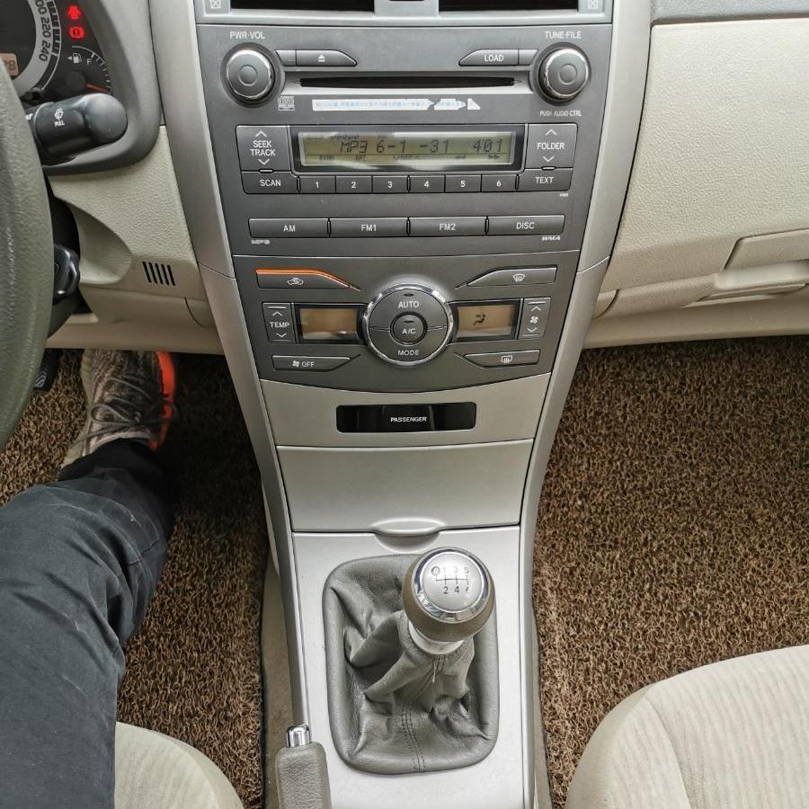 丰田 卡罗拉  2008款 1.8L 手动GL-i天窗特别版图片