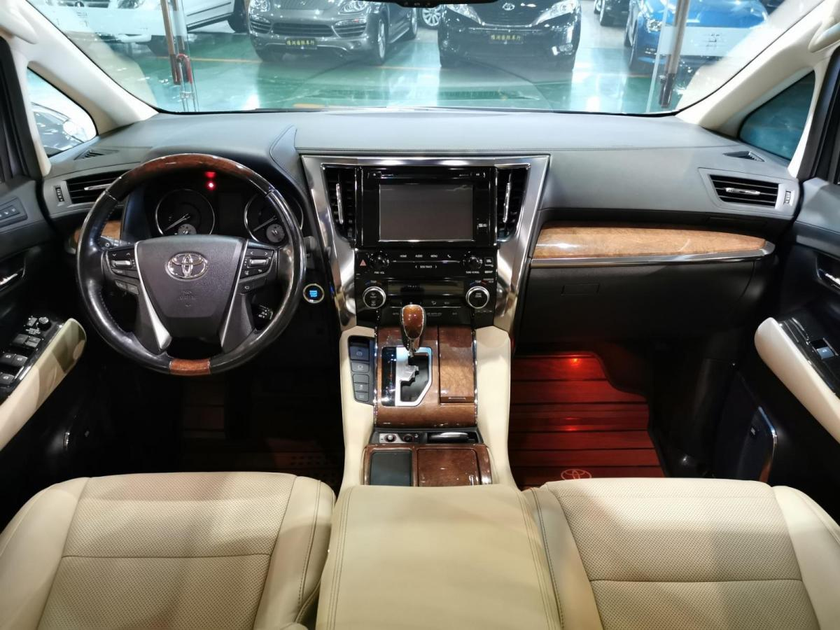 丰田 埃尔法  2015款 3.5L 豪华版图片