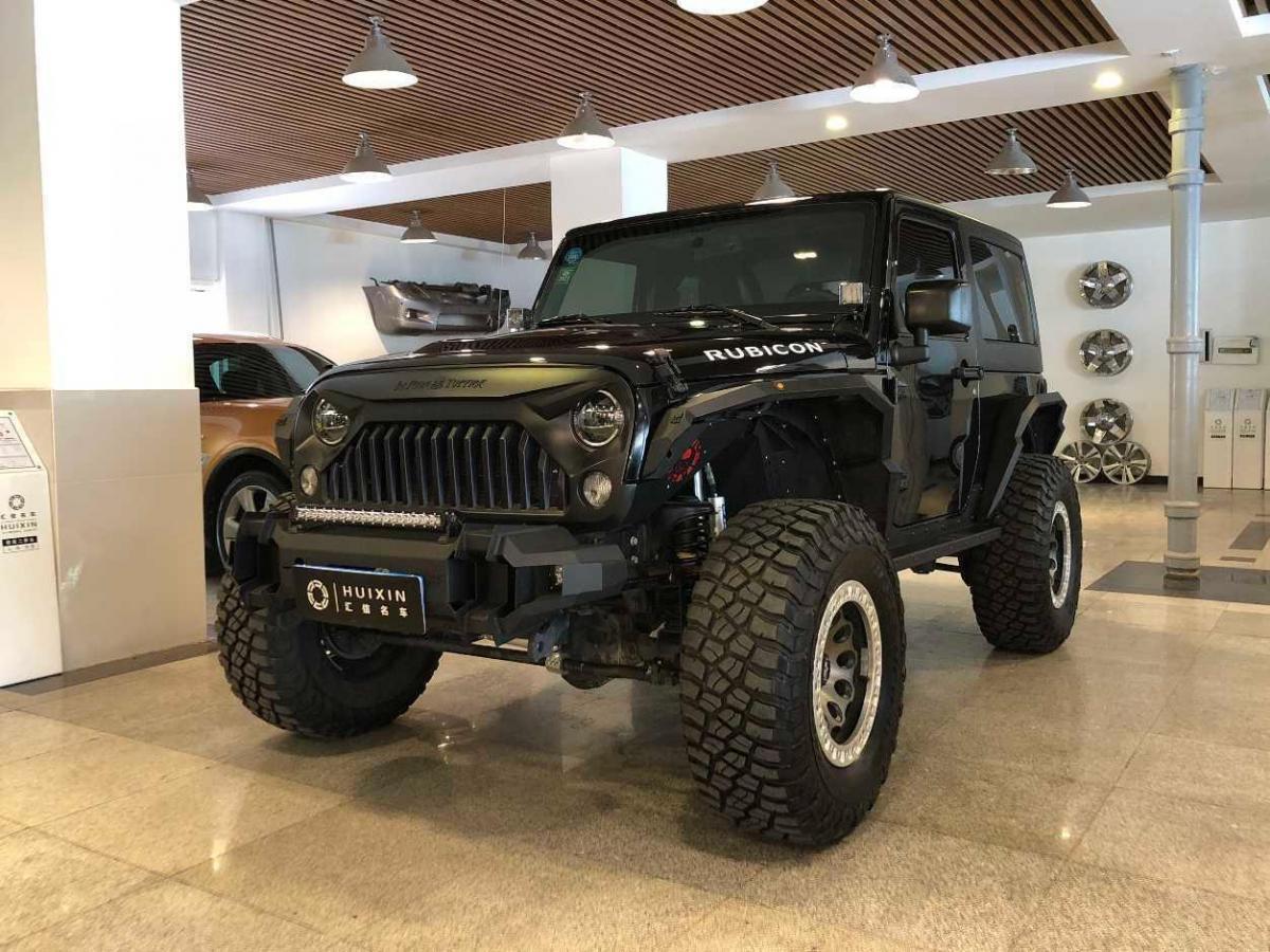 2019年4月 Jeep 牧马人(进口) 3.6L Rubicon 两门舒享版图片