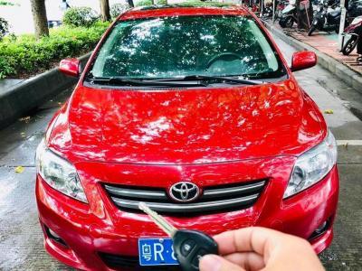 丰田 卡罗拉  2007款 1.8L 自动GLX-i