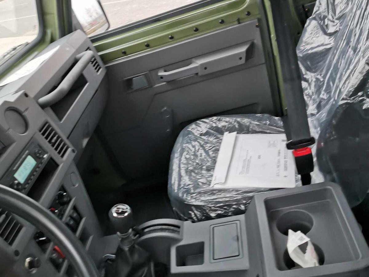 北汽制造 勇士皮卡  2020款 2.4T汽油四驱3035轴距连体双排4K22D4T图片