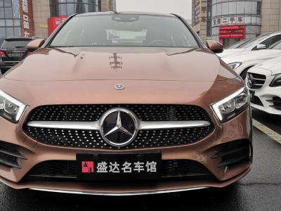 2019年11月 奔驰 奔驰A级   改款 A 200 L 运动轿车图片