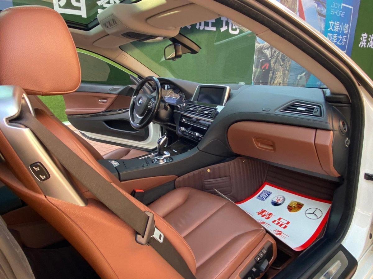 寶馬 寶馬6系  2012款 640i雙門轎跑車圖片