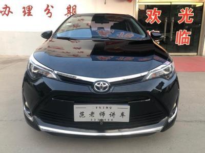 2017年11月 丰田 雷凌  185T CVT豪华版图片