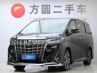 2019年1月 丰田 埃尔法(进口) 改款 3.5L 尊贵版图片