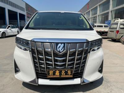 2018年5月 丰田 埃尔法(进口) 3.5L 豪华版图片