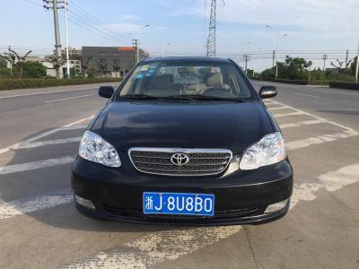 丰田 花冠  2007款 1.8L 手动GLX-i特别版