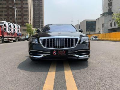 奔驰 奔驰S级  2019款 S 350 L 尊贵型 臻藏版