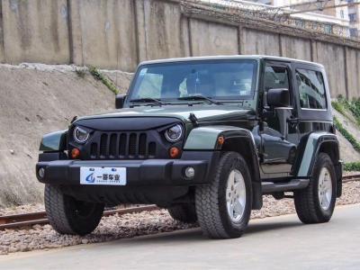 Jeep 牧马人  2008款 3.8L 两门