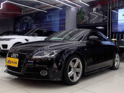 2013年12月 奥迪 奥迪TT(进口) TT 45TFSI Coupe 黑色旋风版图片