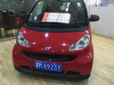 Smart Fortwo  Coupe 1.0 哑光灰限量版