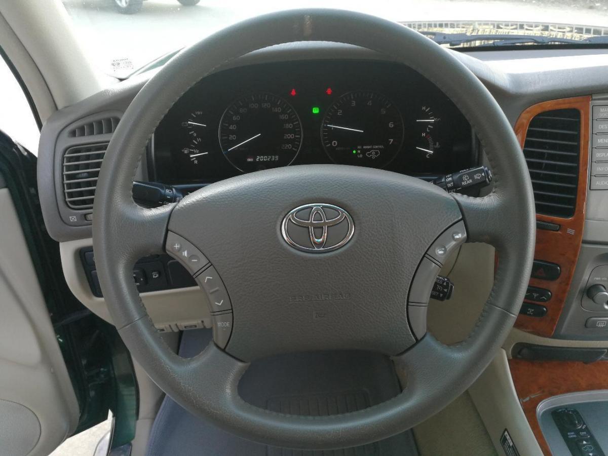 丰田 兰德酷路泽  2003款 4.7 VX R图片