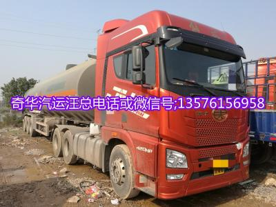 解放JH6拖车油罐车图片