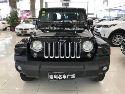 2018年6月 Jeep 牧马人(进口) 3.0L 四门 舒享版图片