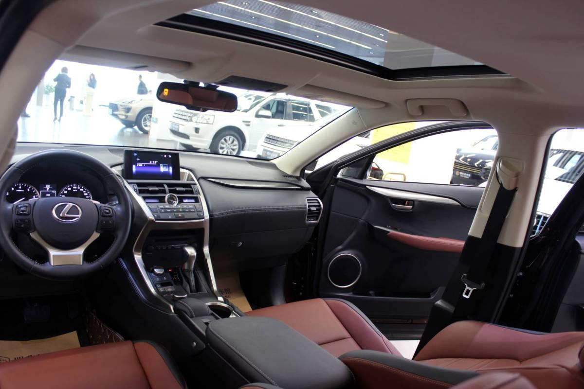 雷克萨斯 NX  2016款 200 全驱 锋尚版图片