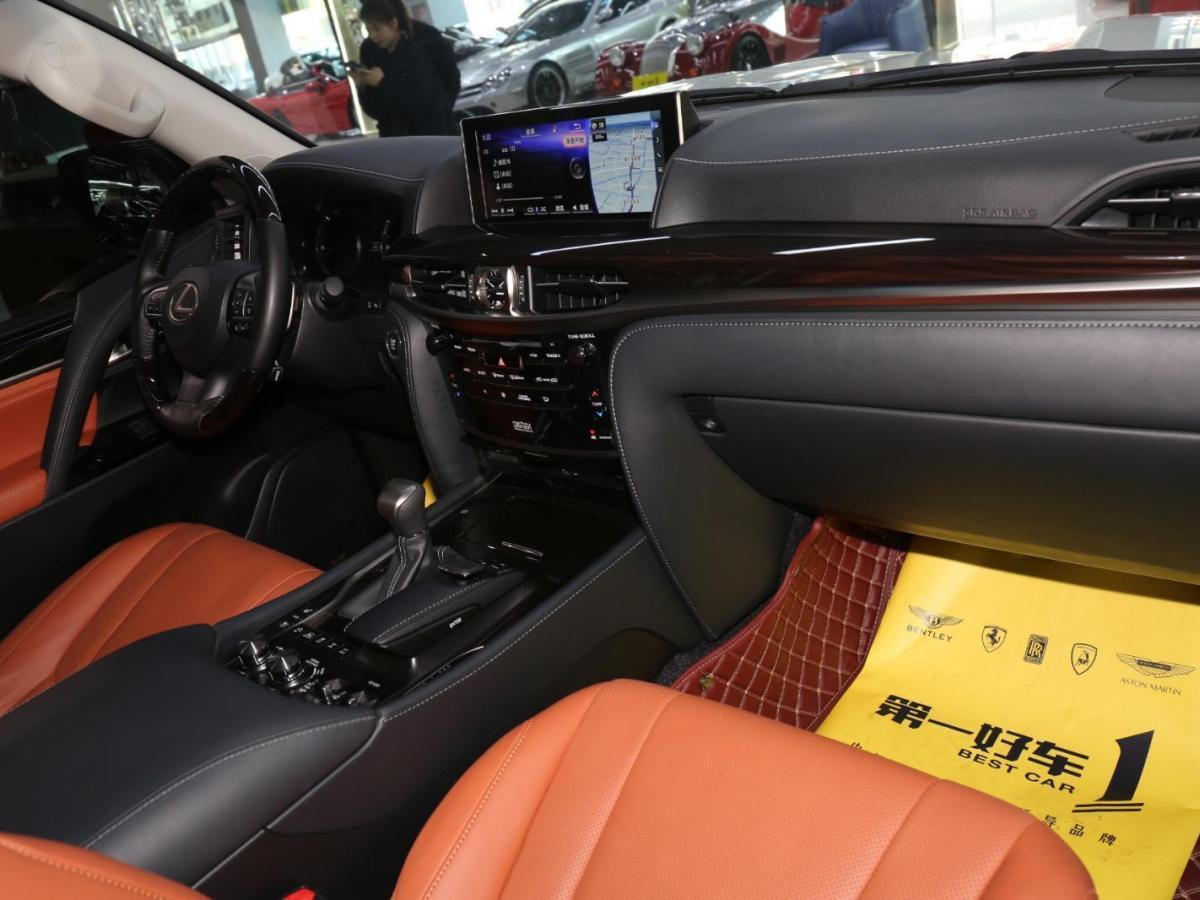 雷克薩斯 LX  2017款 LX570 巔峰特別限量版(中國市場限量發售150臺)圖片