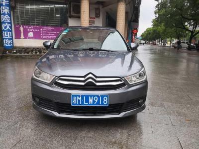 雪鐵龍 世嘉  2013款 三廂 1.6L 自動品尚型圖片