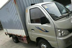 图片 黑豹 柴油_单排厢式小货车 2012年 旗舰J版