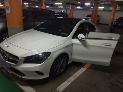 奔驰 奔驰CLA级  2017款 CLA 200 动感型图片