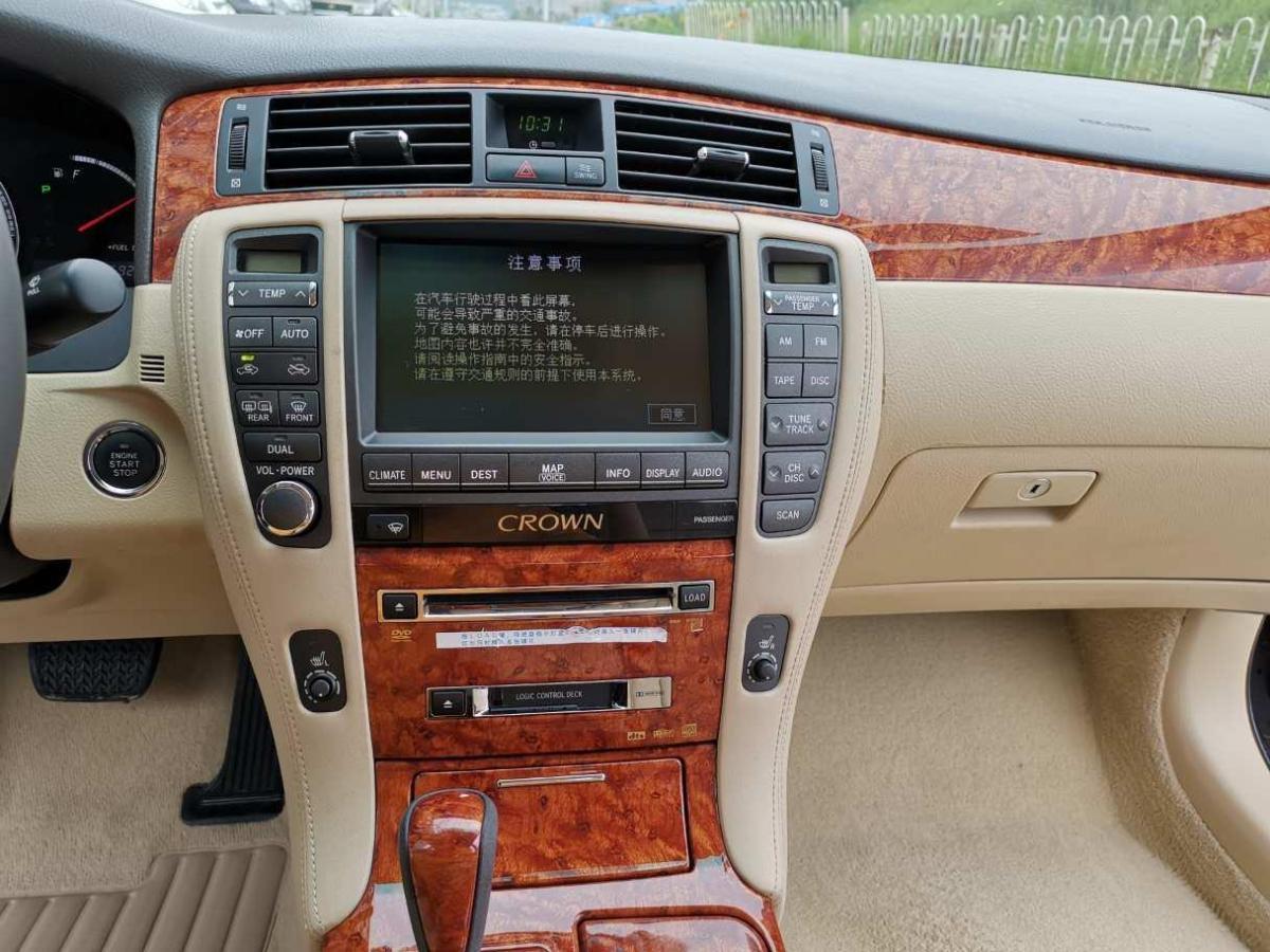 丰田 皇冠  2007款 3.0L Royal Saloon导航图片