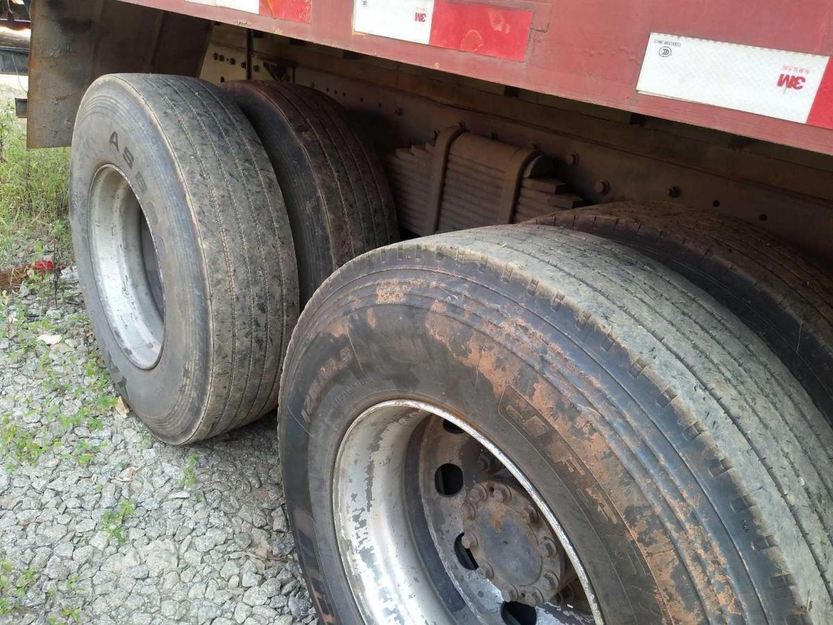 解放前四后八厢式货车,国四排放图片