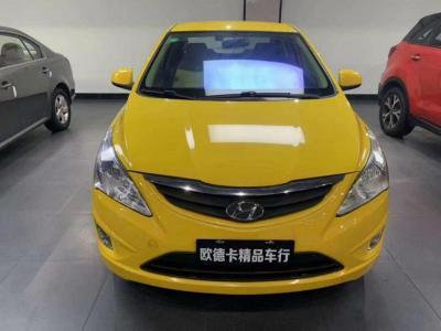 2012年12月 现代 瑞纳 三厢 1.4L 手动舒适型GS图片