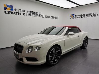 宾利 欧陆  2012款 4.0T GTC V8