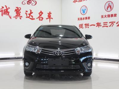 豐田 卡羅拉  2014款 1.6L CVT GL-i圖片