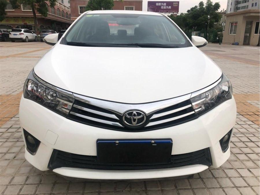 2014年5月_出售二手车丰田 卡罗拉  2014款 1.6L CVT GL哪里有卖_价格多少4.58万