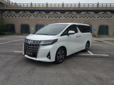 丰田 埃尔法  2018款 改款 3.5L 豪华版图片