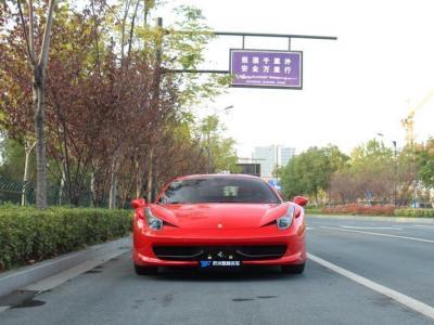 2011年11月 法拉利 458  4.5L Italia图片