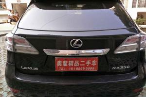 雷克萨斯 RX  RX270 2.7 豪华版