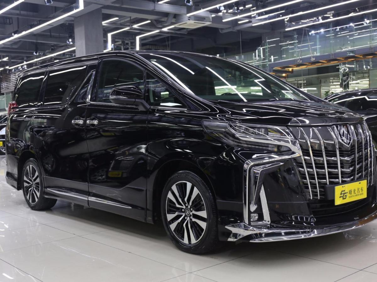 豐田 埃爾法  2018款 改款 3.5L 尊貴版圖片