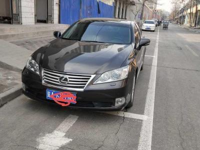 雷克薩斯 ES  2010款 240 典雅版