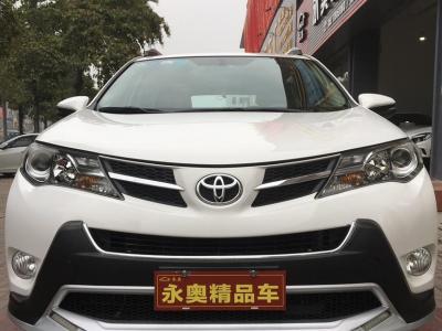 丰田 RAV4荣放  2013款 2.0L CVT四驱风尚版