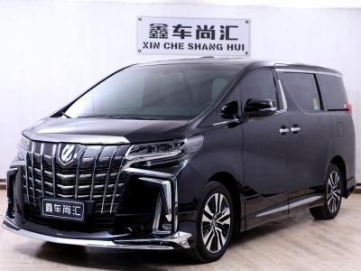 2019年8月 丰田 埃尔法(进口) 改款 3.5L 尊贵版图片
