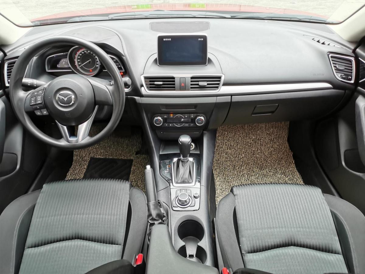 马自达 马自达3 Axela昂克赛拉  2014款 三厢 1.5L 自动豪华型图片