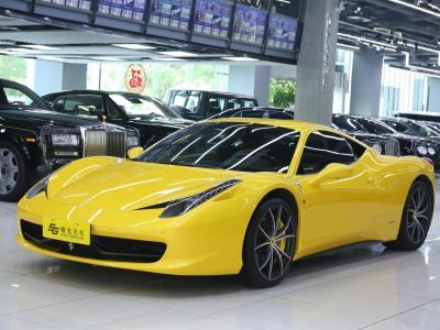 2010年10月 法拉利 458  4.5L Italia圖片