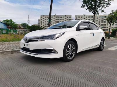丰田 卡罗拉  2017款 改款双擎 1.8L E-CVT精英版