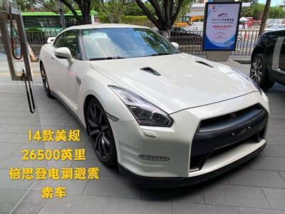 2013年10月 日产 GT-R(进口) 3.8T Premium Edition 黑色内饰图片