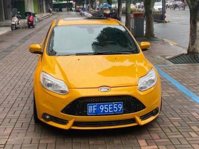 2014年6月 福特 福克斯(进口) 2.0T ST 橙色版图片