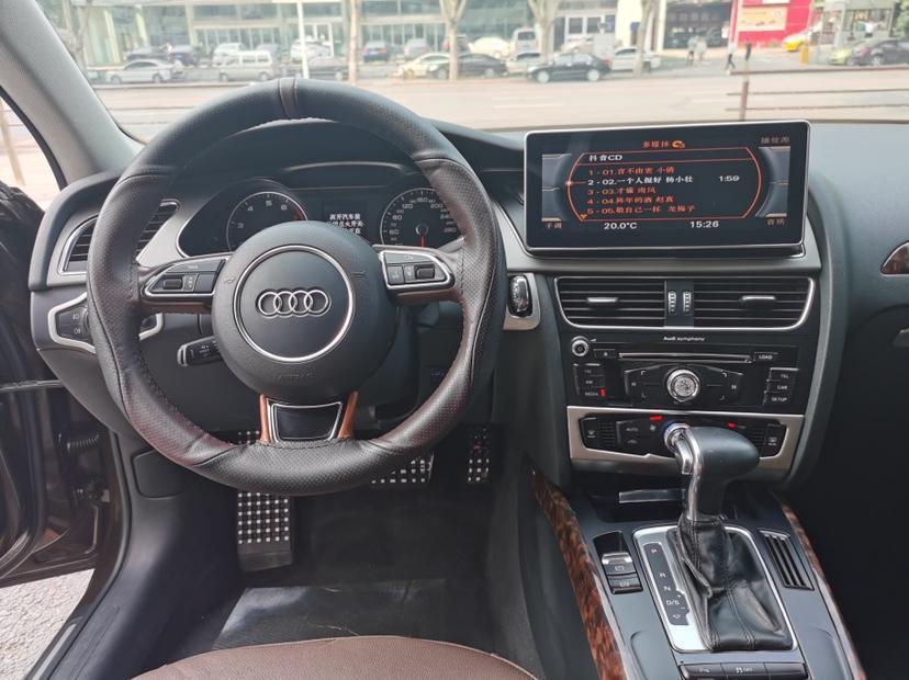 奥迪 奥迪A4L  2013款 35 TFSI 自动技术型图片