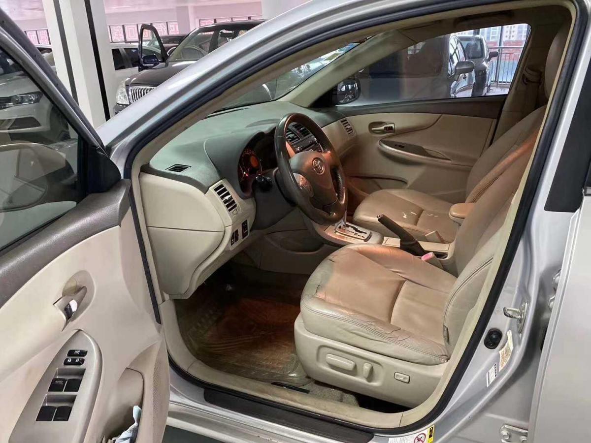 丰田 卡罗拉  2007款 1.8L 自动GLX-i图片