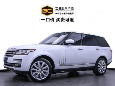 路虎 揽胜 路虎 揽胜 路虎2017款 揽胜(进口) 3.0 V6 汽油 中东行政版图片