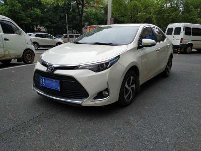丰田 雷凌  2017款 改款 185T CVT精英版 国V