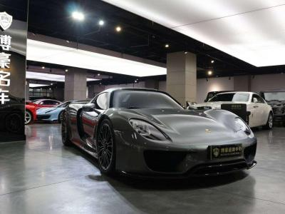 2016年5月 保时捷 918 Spyder Weissach package 4.6L图片