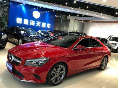 奔驰 奔驰CLA级(进口) 改款 CLA 200 动感型图片